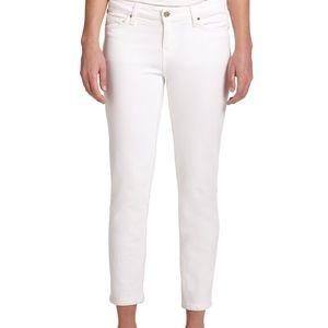 Kate Spade White Skinny Jeans Sz 28